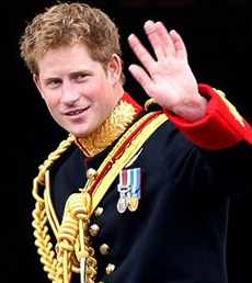 Prince Harry nude