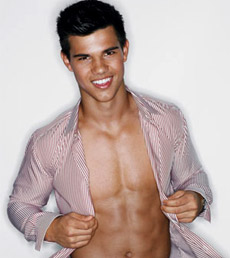 Taylor Lautner Shirtless